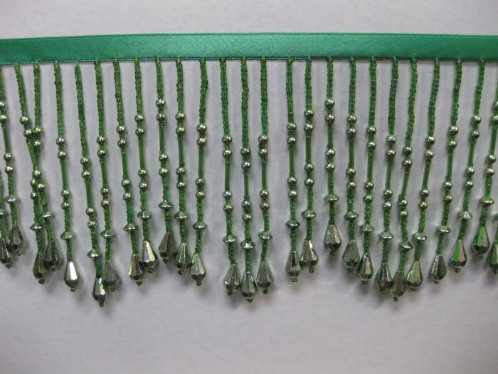 ACRYLIC BEAD 4' GREEN