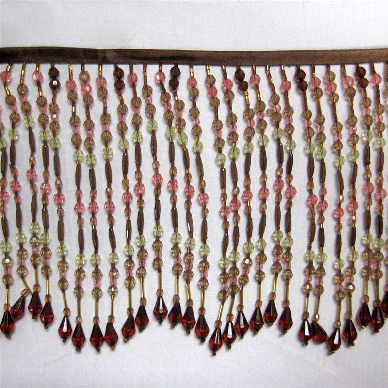 GLASS BEADED FRINGE