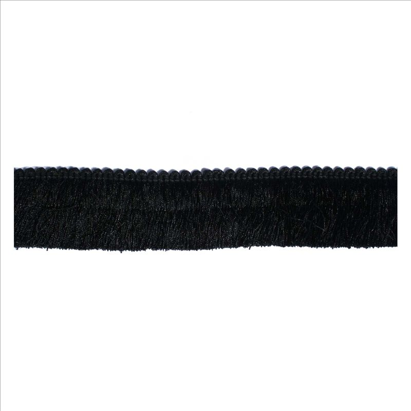 BRUSH FRINGE BF-1480-BLACK