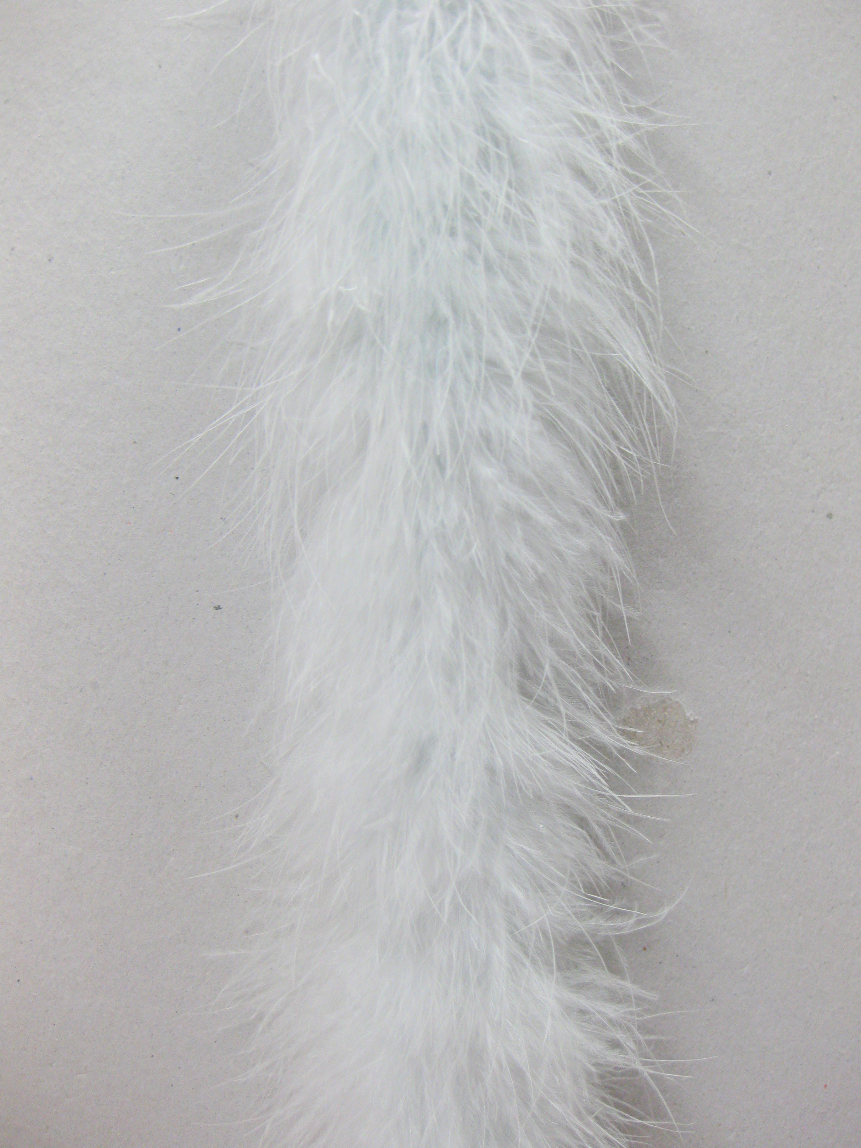 "25g, 72"" Long Turkey Marabou Feather Boa"