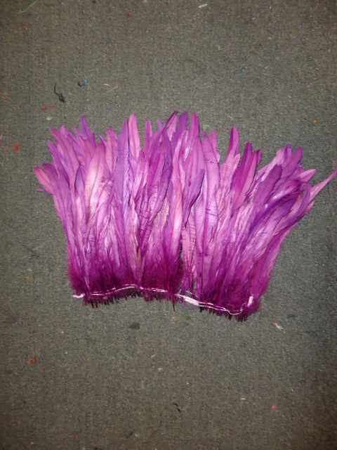 "ROOSTER TAIL COQUE FEATHERS 16-18"" MAGENTA"