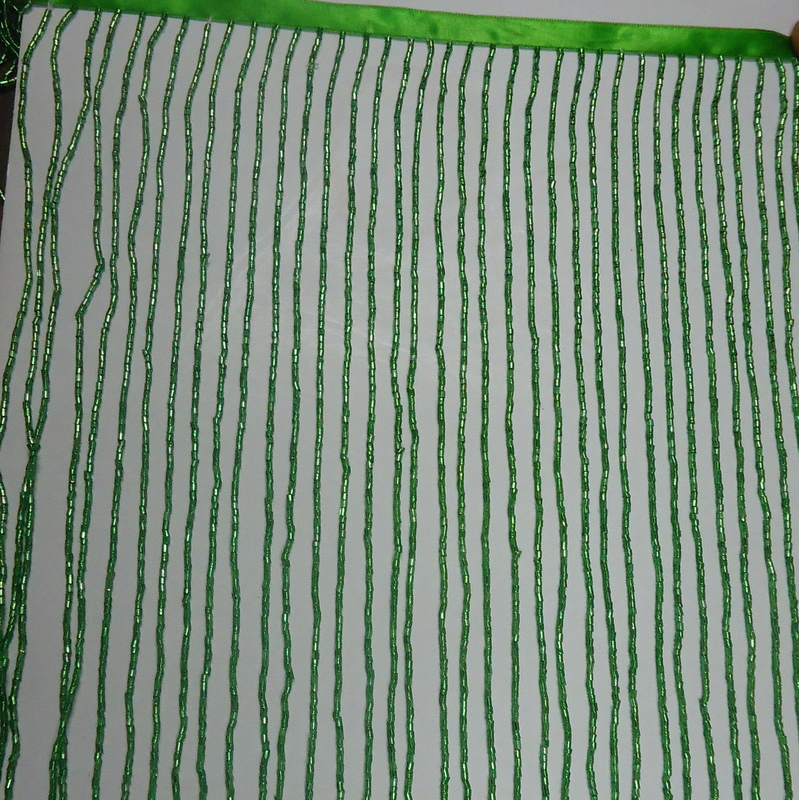 12INCH GLASS BEADED FRINGE