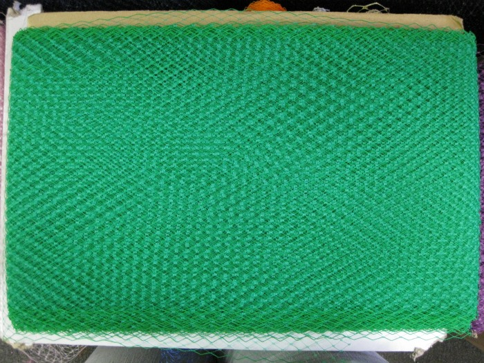 FRENCH NETTING TULLE GREEN
