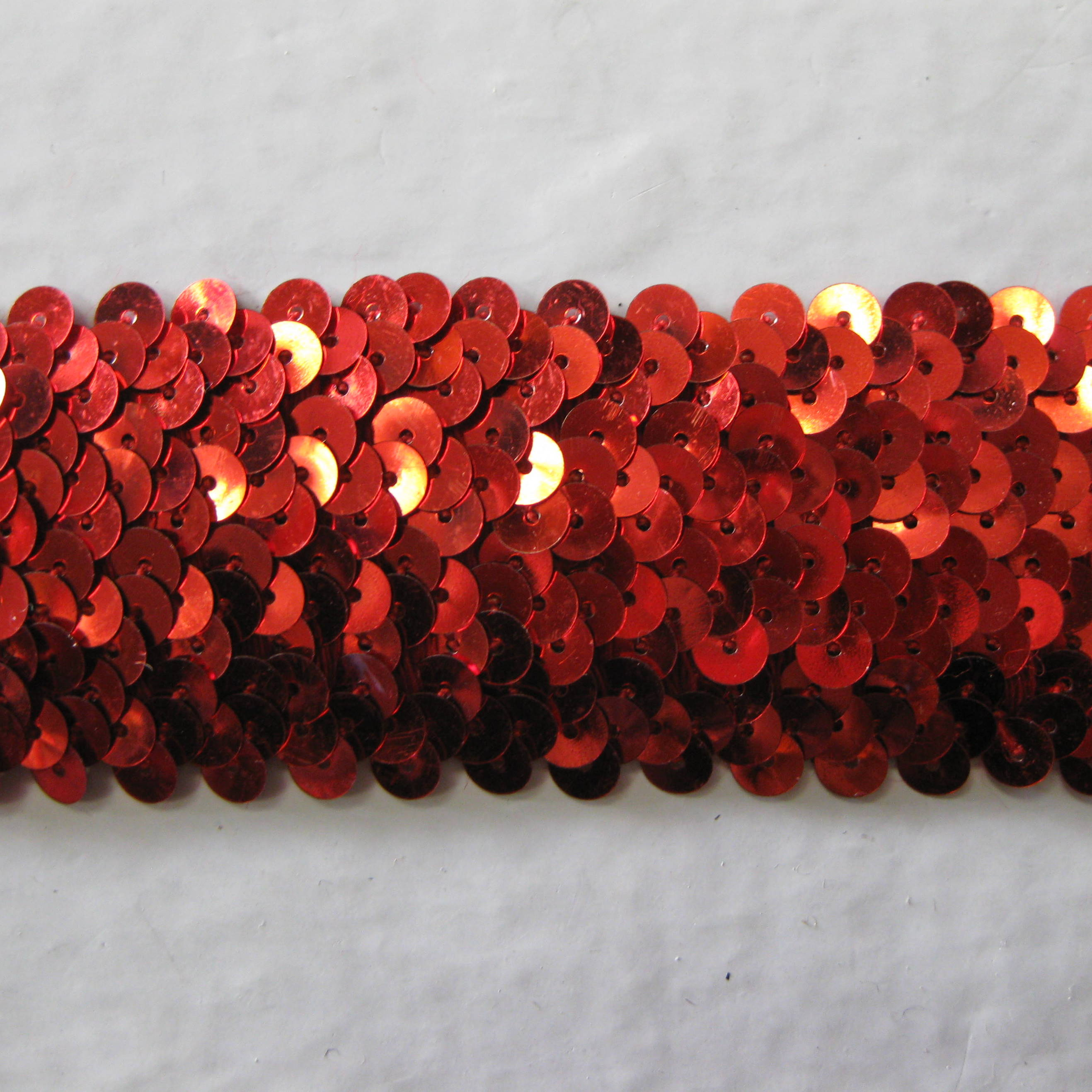 Stretch Sequins Trim 4 rows