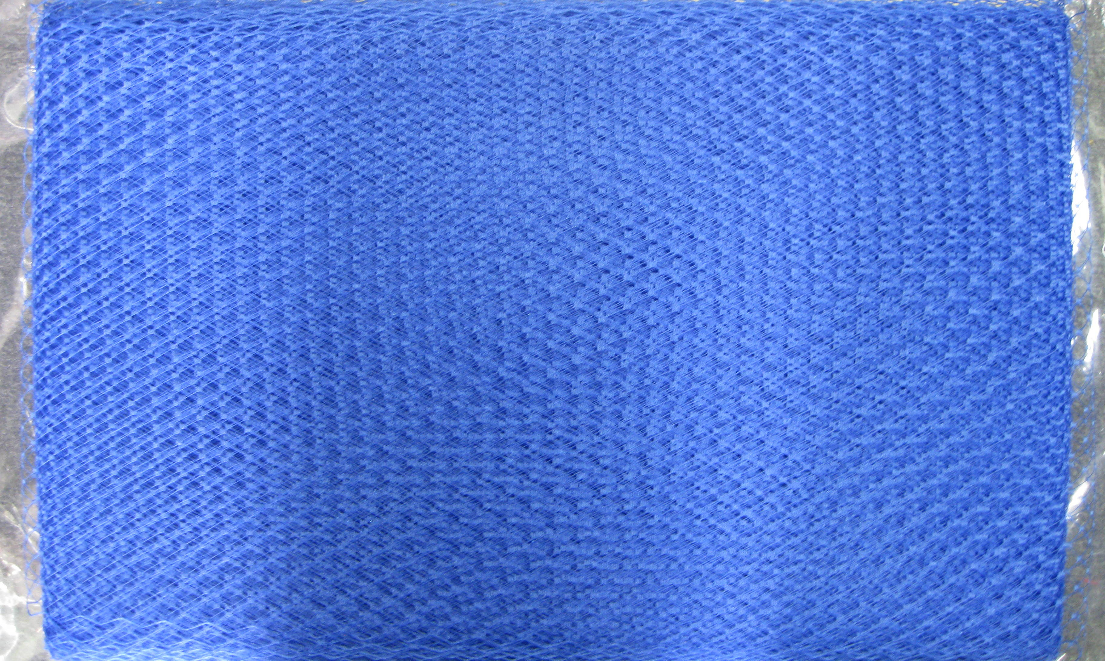FRENCH NETTING TULLE BLUE