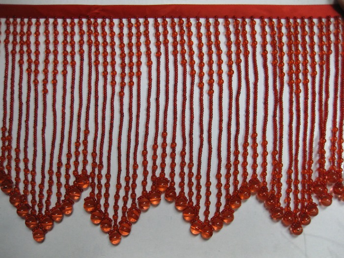 glass beaded fringe bb 1300 lightred 25 00 eeagal trimming