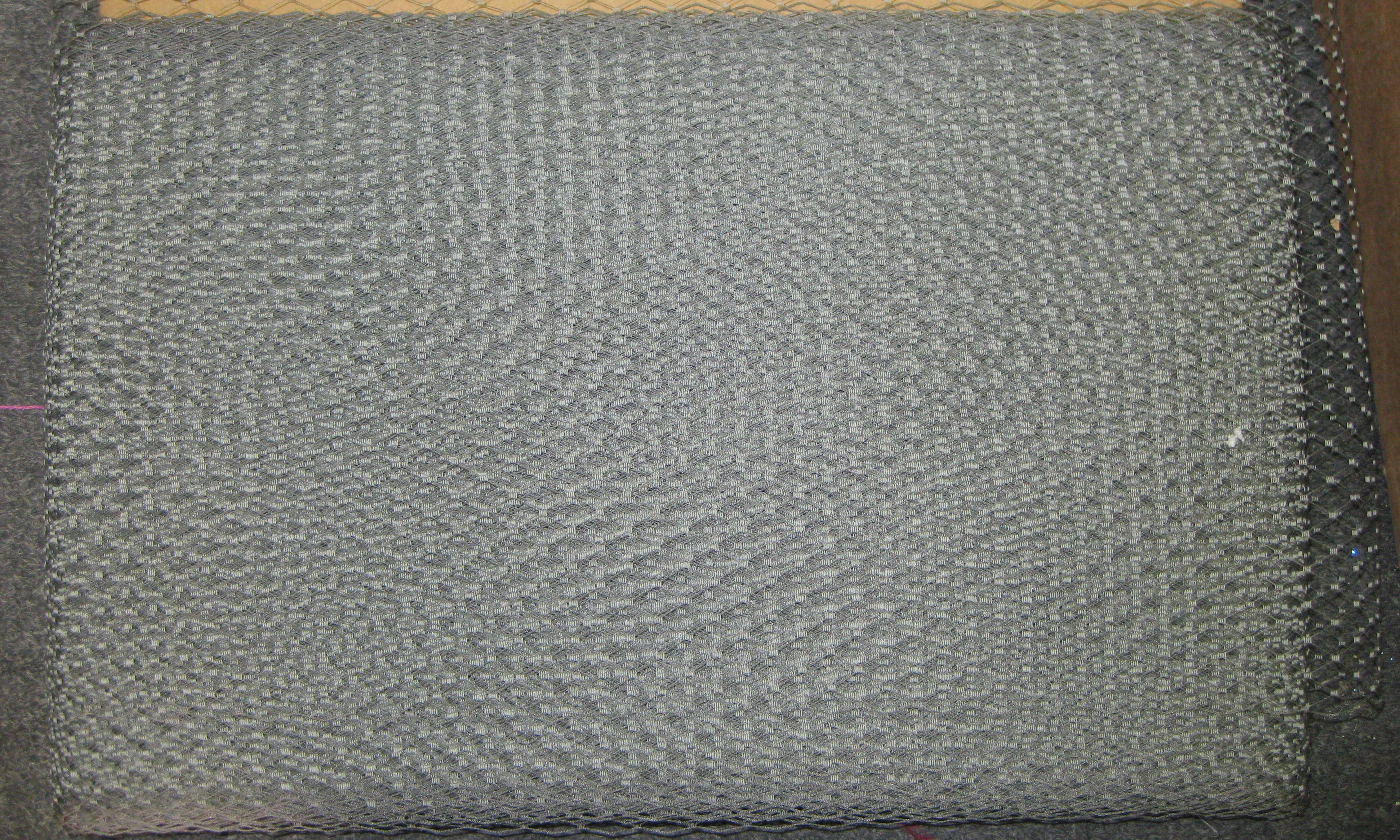 FRENCH NETTING TULLE GRAY