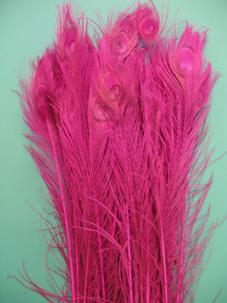 BLEACH DYED FUSHIA 35-40' PER 50