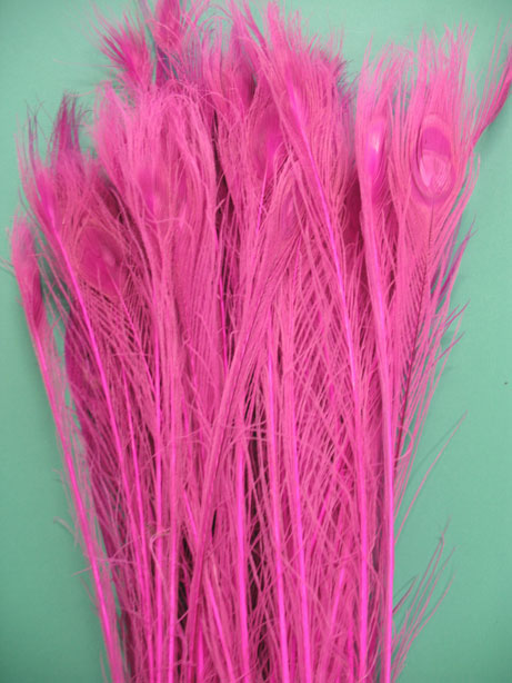 BLEACH DYED HOT PINK 35-40\' PER 50