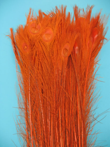BLEACH DYED ORANGE 35-40' PER 100