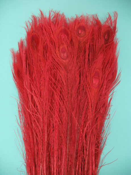 BLEACH DYED RED 35-40' PER 100